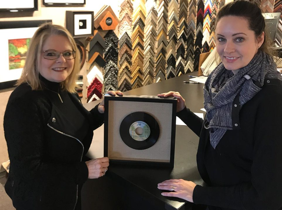 Blog - Framing a 45 Record (1)