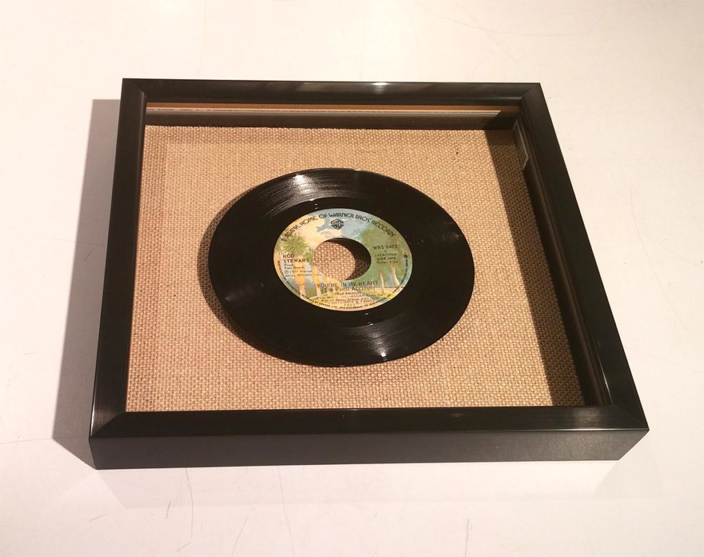 Blog - Framing a 45 Record (5)