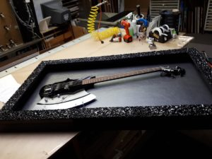 Blog - Kiss Guitar - Framing in Progress