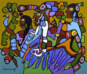 Blog Norval Morrisseau Shaman And Disciples