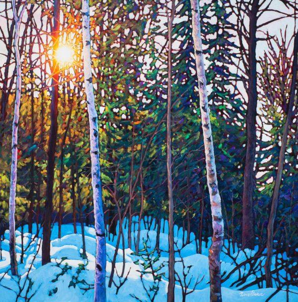 Blue Shadows, Mont Tremblant - Tim Packer
