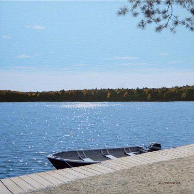 Boat Docked - Wayne Mondok