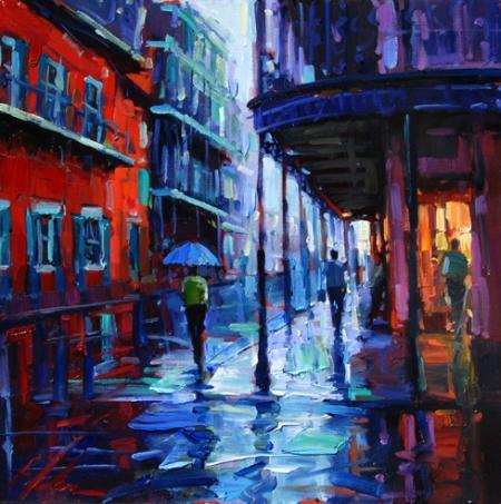 Bourbon Street Michael Flohr