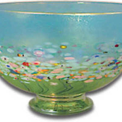 Bowl Meadow Large Footed (6 Inches) Robert Held