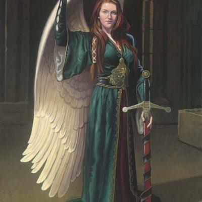 Bridget the Celtic Angel - Dean Morrissey