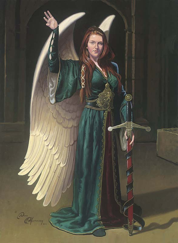 Bridget the Celtic Angel - Dean Morrissey