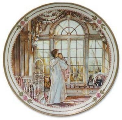 Bright Eyes Collector Plate Trisha Romance