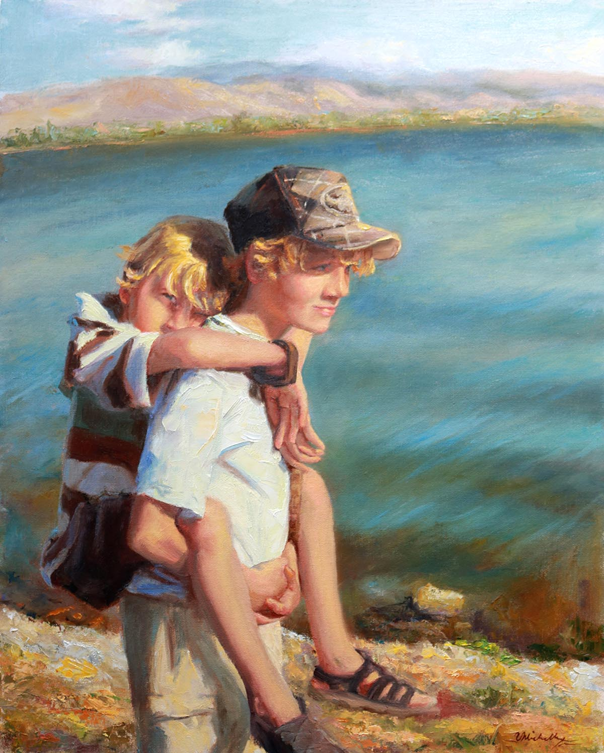 Brothers - It Was Then That I Carried You - Michelle Murray