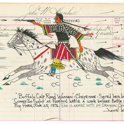 Buffalo Calf Road Woman - Daniel Long Soldier