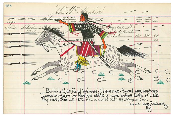 Buffalo Calf Road Woman - Daniel Long Soldier