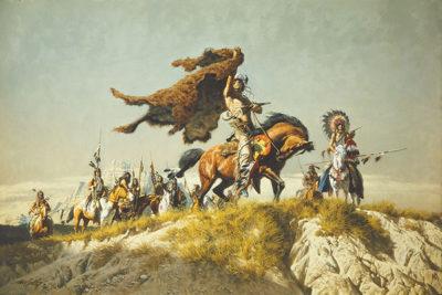 Buffalo Robe Signal - Frank McCarthy