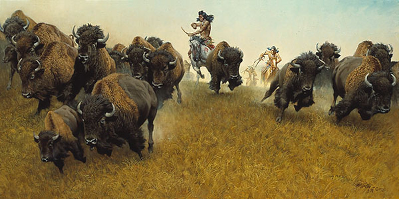 Buffalo Runners - Frank McCarthy
