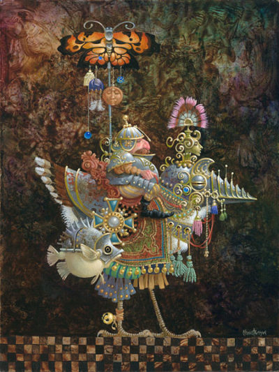 Butterfly Knight James Christensen