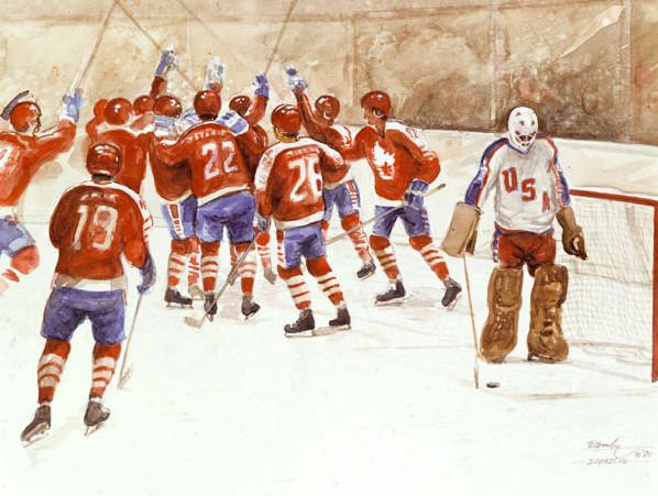 Canada 4 USA 2 Ken Danby