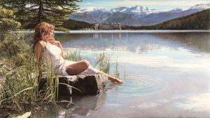 Canadian Beauty Steve Hanks