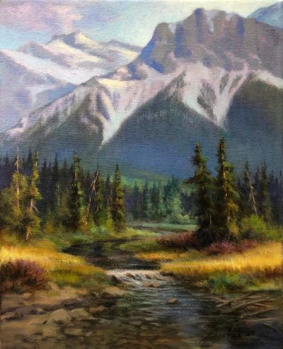 Canmore Creek - Maurade Baynton