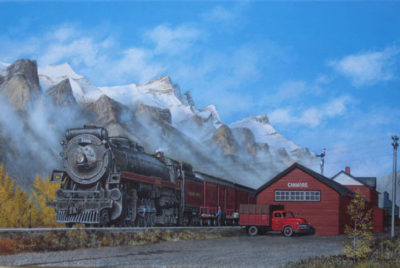 Canmore Station Max Jacquiard