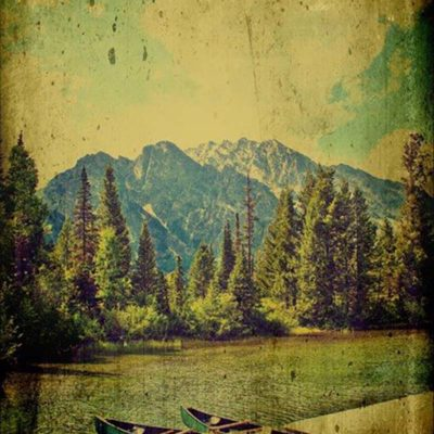 Canoes in the Mountains - Mark A. Cole