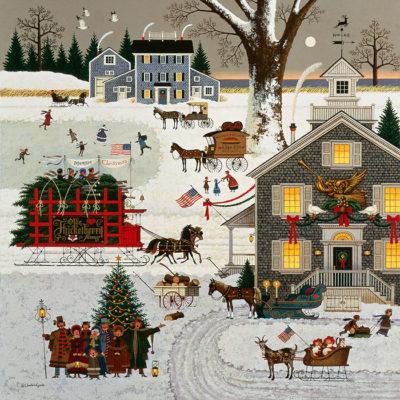Cape Cod Christmas Charles Wysocki