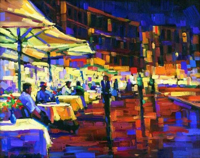 Cappuccino With Friends Michael Flohr