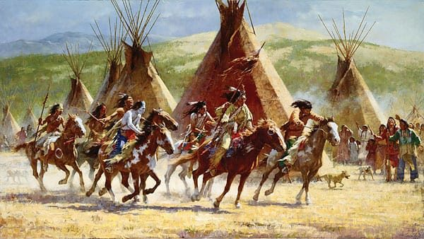 Capture of the Horse Bundle - Howard Terpning