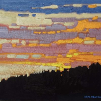 Cariboo Evening - Cameron Bird