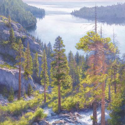 Cascade Of Light, Emerald Bay, Lake Tahoe June Carey