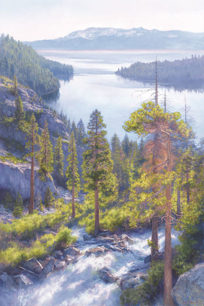 Cascade Of Light, Emerald Bay, Lake Tahoe June Carey