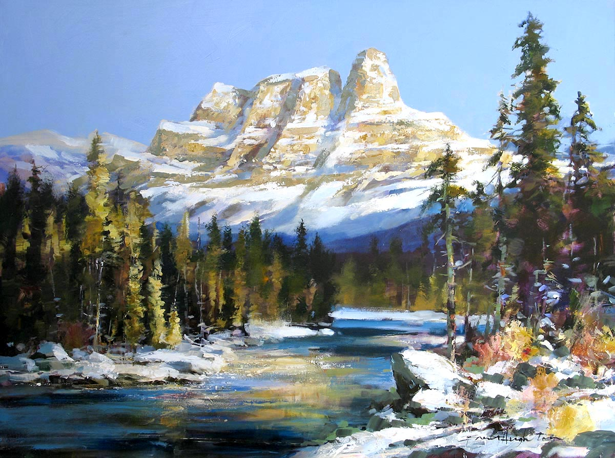 Castle Mountain - Brent Heighton