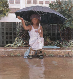 Catching The Rain Steve Hanks