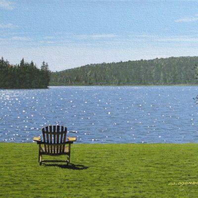 Chairs. Mid-Morning - Wayne Mondok