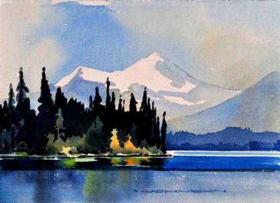 Charlton And Maligne Unwin Lake Gregg Johnson