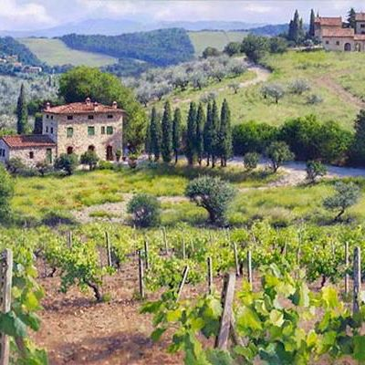Chianti Estate June Carey