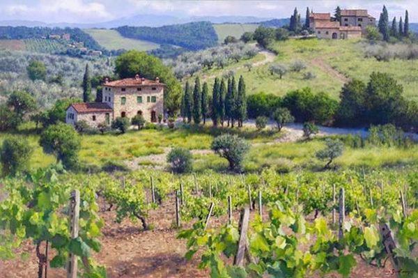 Chianti Estate June Carey