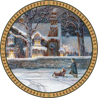 Child of Winter - Collector Plate - Trisha Romance