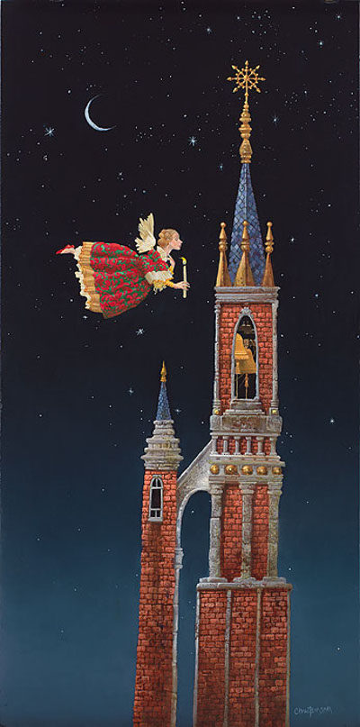 Christmas Bells James Christensen