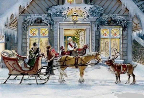 Christmas Eve Trisha Romance