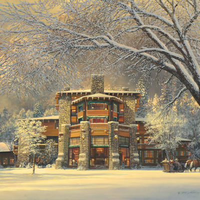 Christmas Eve At The Ahwahnee William S. Phillips
