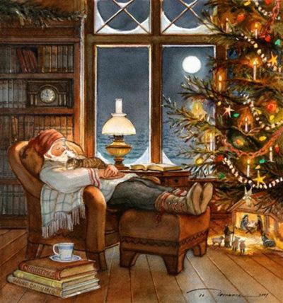 Christmas Nap Trisha Romance