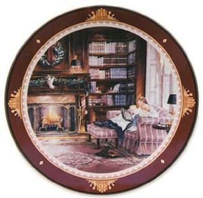 Christmas Story Collector Plate Trisha Romance