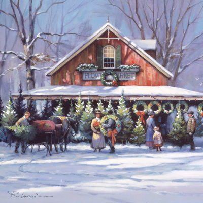 Christmas at the Flower Market - Paul Landry