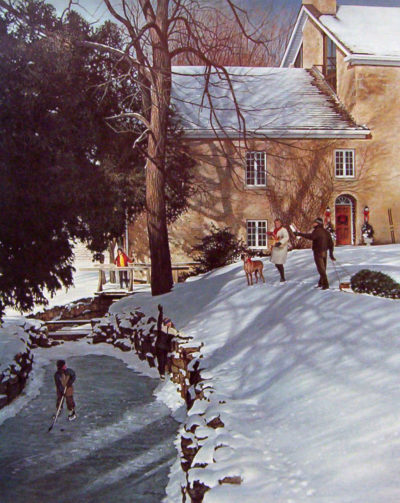 Christmas At The Mill Ken Danby