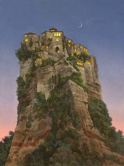 City on a Hill - James Christensen
