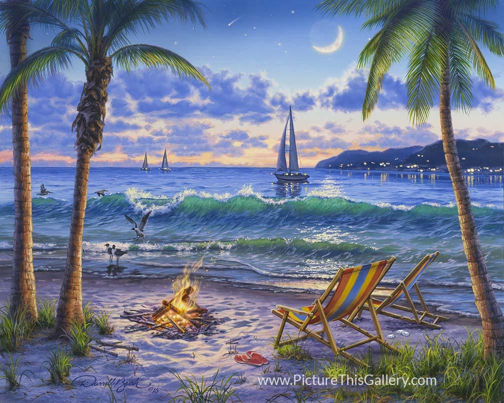 Coastal Twilight - Darrell Bush