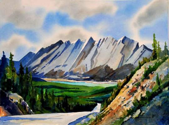 Colin Range And Medicine Lake Gregg Johnson
