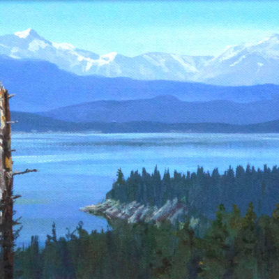 Columbia Lake, East Kootenays Mark Hobson