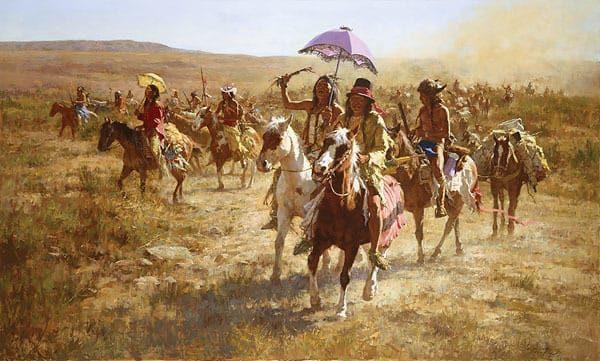 Comanche Spoilers - Howard Terpning