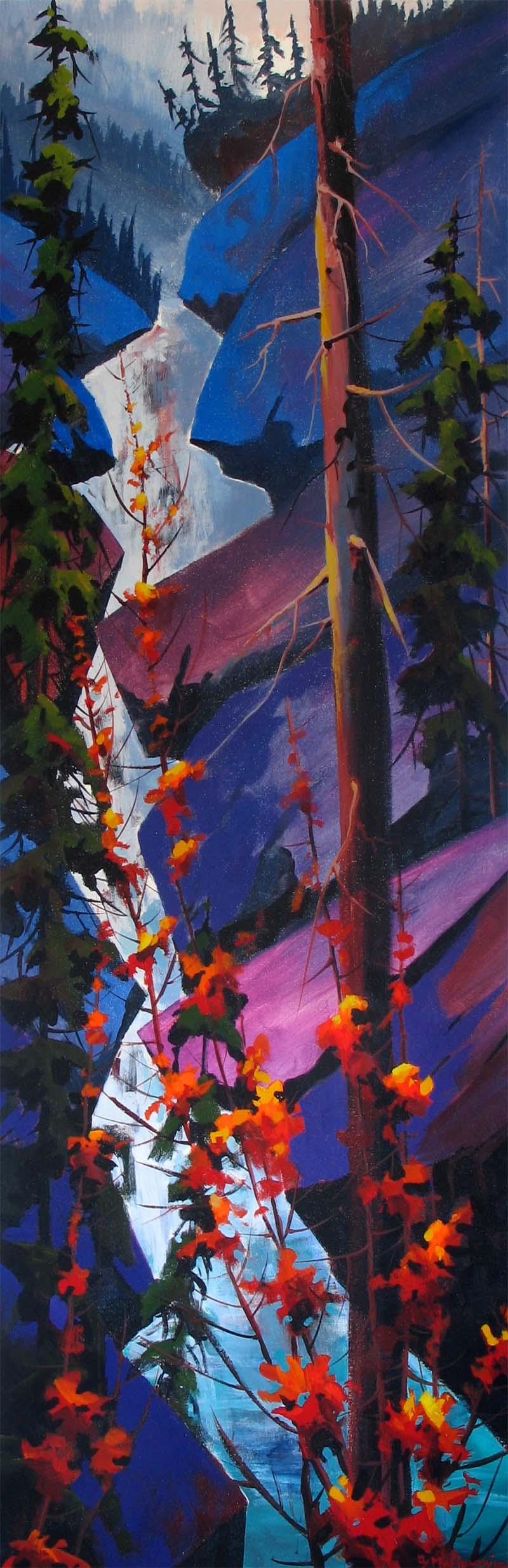 Coming Down the Johnston Canyon - Branko Marjanovic