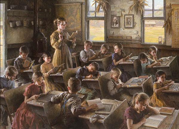 Country Schoolhouse, 1879 Morgan Weistling