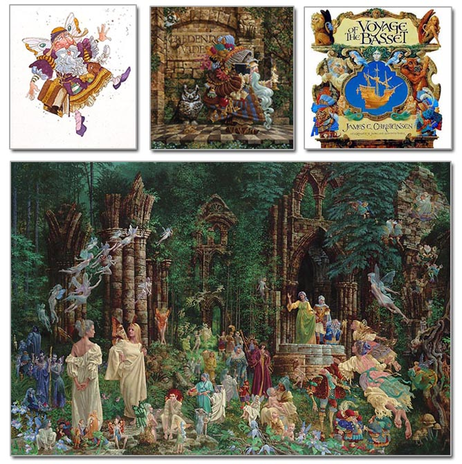 Court of the Faeries - Believer's Etching Edition - James Christensen